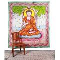 Buddha Printed Mandala
