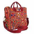 embroidered ladies laptop bag