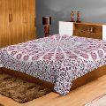 printed mandala cotton bedsheet