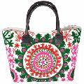Suzani Embroidered Hobo Tote bag