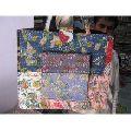 Kantha Shopping Bag
