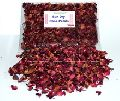 herbs DRIED RED ROSE PETALS