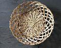 Oval Bamboo Wicker Basket