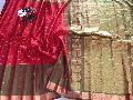 Gadwal pure silk handloom sarees with blouse