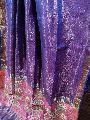 Pure Matka tissue jamdani sarees with Contrast blouse