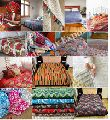 Bedspread Fabric Kantha Quilt