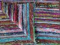 Blue Color Theme Floor Mat