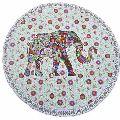 Elephant Mandala Roundie Yoga Mat