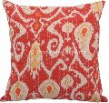 Kantha Ikat Fabric Cotton Cushion Cover