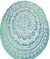 ombre Mandala Lotus Mandala Beach Towel
