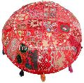 patchwork embroidered vintage bohemian cushion cover