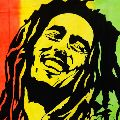Rasta Bob Marley Hippie Indian Cotton Wall Tapestry
