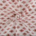 Upholstery Cotton Voile Throw Block Print Fabric