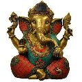 Metal Ganesh Statue