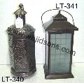 antique metal lantern candle holders lantern