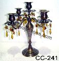 Crystal Black Candelabra
