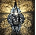 Handmade Iron Golden Color Hanging Ceiling Lamps