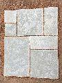 Grey Half Honed Limestone Slab