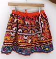 hand embroidered banjara short skirts
