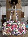 hand embroidered suzani banjara tote bag