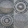 Mandala Tapestery