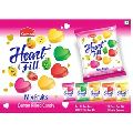 Heart Fill Fruit Flavour Candy