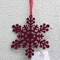 Tree Decoration Hanging Snow Flake Ornament