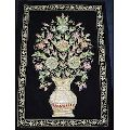 Embroidered Jewel Wall Panel Hangings