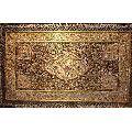Hand Embroidered Kashmiri Jewel Carpet
