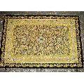 Kashmiri Embroidery Jewel Carpet