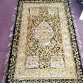 Zari Hand Embroidery Carpet