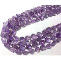 Amethyst faceted tumbled stones