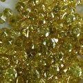 Lab grown cvd yellow round brilliant cut diamond
