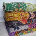 cotton Floral Kantha Quilts