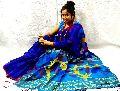 Handwoven Silk Cotton Jamdani Saree uses ethnic designs and vivid colours