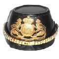 Medieval officer Bavarian badge helmet