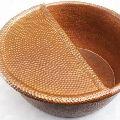 Foot Soak Hammered Copper Bowl