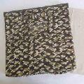 Cotton stitched cardboard storage boxes