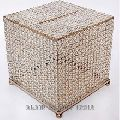 crystal bead tissue wedding box