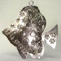 metal christmas hanging fish ornament