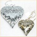 mirror mosaic christmas hanging ornament