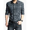 Mens Polyster Casual Shirt