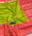Pure Handloom Kanchi Silk/Tissue Sarees with Kuppadam Border