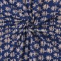 Cotton Hand Block Print Fabric Ethnic Voile For Upholstery Crafting Dress
