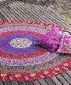 Ethnic Round Mandala Tapestries Cotton Boho Roundies Hippie Beach Blanket Throw