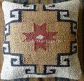 jute rugs hand woven decorative throw pillow case kilim cushion