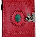 Leather hardbound cover diary