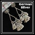 German Silver Triple Jhumki
