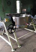 Steam Operated Tilting khoya Making Machine