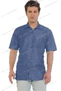 Denim Half Sleeve Shirt